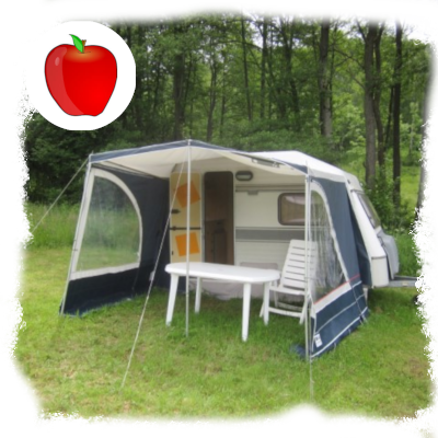 two person caravan Apple dobra luka