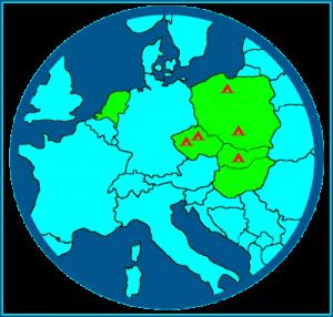 rondje midden Europa