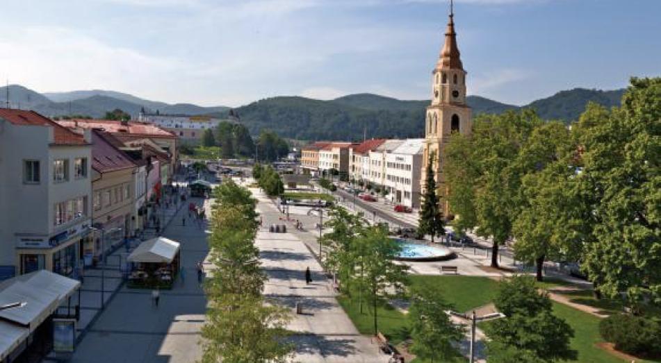 Zvolen Market place Dobrá Lúka