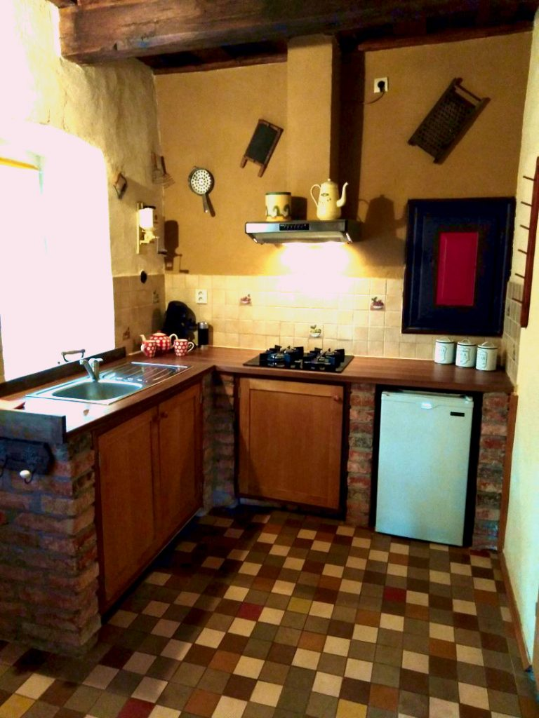 Dobra Luka holiday home no 9 kitchen