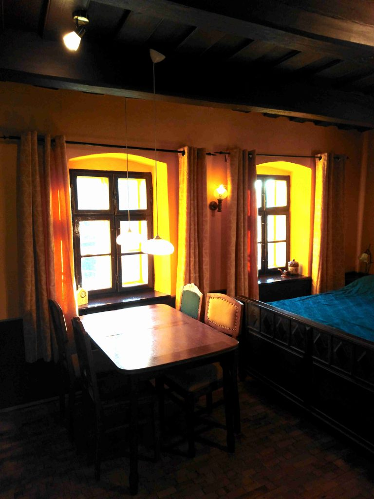 Dobra luka holiday home Table Bed livingroom no20