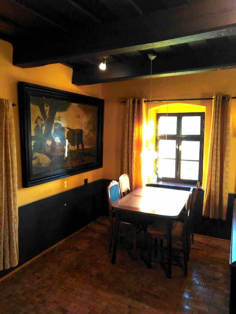 Dobra luka holiday home Table painting livingroom no18